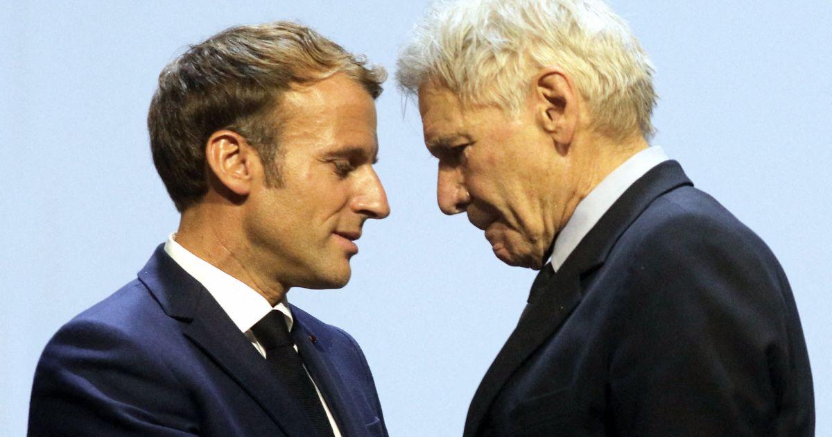 Emmanuel Macron et Harrison Ford au au Congrès mondial de la nature : grande annonce et message fort