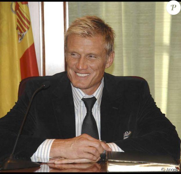 Dolph Lundgren est nommé ambassadeur de Marbella en Espagne, le 1er décembre 2009.