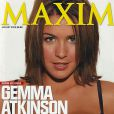 La charmante Gemma Atkinson en couverture de MAXIM.