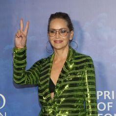 Sharon Stone - Photocall de la soirée Global Ocean Gala au Palazzo di Amore à Beverly Hills le 6 février 2020.