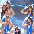 Les Miss qui défilent en maillots de bain... Toujours un grand moment, très attendu par les téléspectateurs masculins !