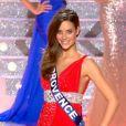 Miss Provence, finaliste à l'élection de Miss France 2010, en tenue de grand couturier... Des robes signées Zuhair Murad.