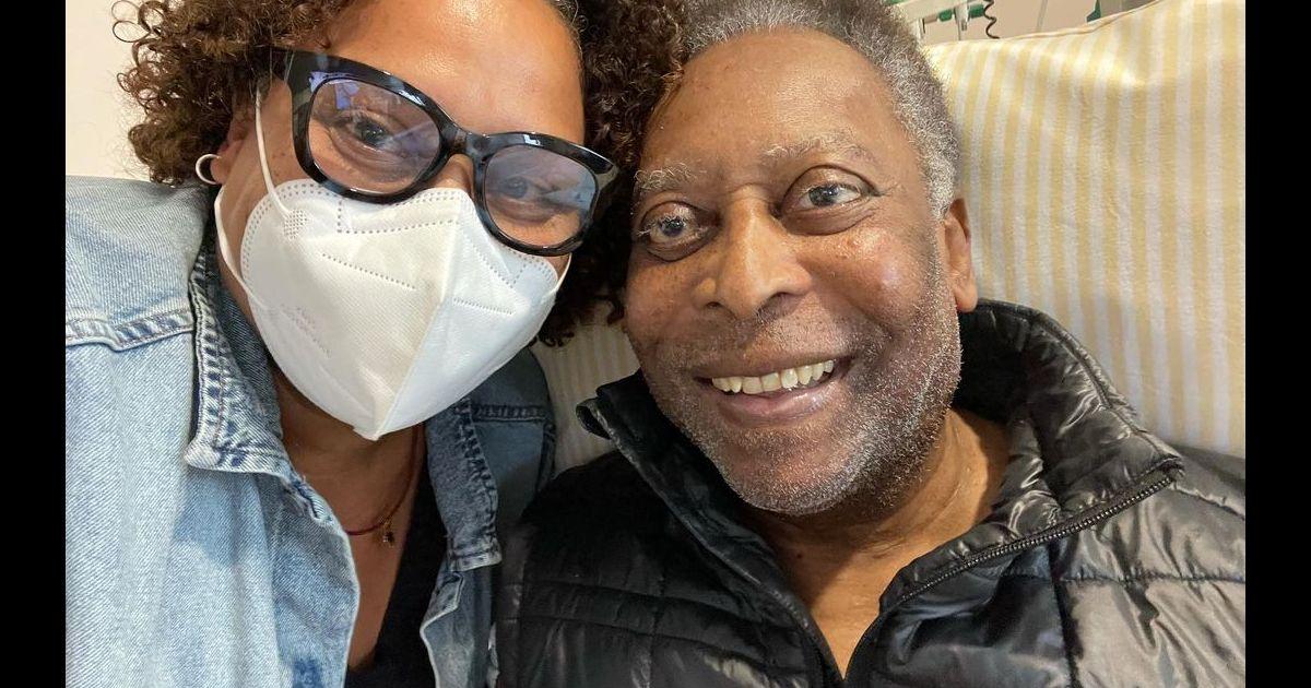Pelé à nouveau hospitalisé : sa fille donne les premières nouvelles