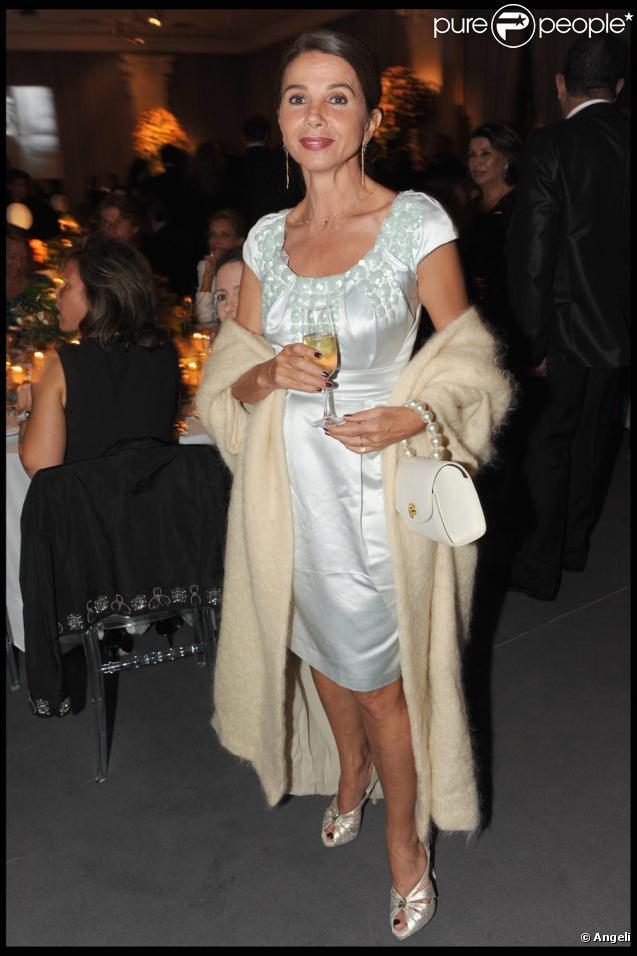 Victoria Abril lors de la soirée Dior au palace Es Saadi durant le