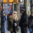 Taylor Momsen sur le tournage de Gossip Girl à New York, le 8 décembre 2009
