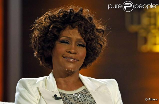 Whitney Houston en Allemagne, le 5 octobre 2009.