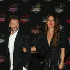 Christophe Maé et sa femme Nadège Sarron - 21e édition des NRJ Music Awards au Palais des festivals à Cannes le 9 novembre 2019. © Dominique Jacovides/Bestimag