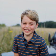 Portrait du prince George de Cambridge le jour de ses 8 ans. Londres, le 22 juillet 2021. © Duchess of Cambridge via Bestimage