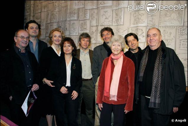 Jacques Echantillon (à gauche) est décédé quelques heures avant son 75e anniversaire...