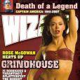 La très belle Rose McGowan en couverture de Wizard.