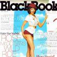 La très belle Rose McGowan en couverture de BlackBook.