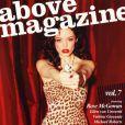 La très belle Rose McGowan en couverture de Above Magazine.