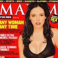 La très belle Rose McGowan en couverture de Maxim.