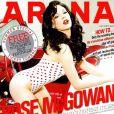 La très belle Rose McGowan en couverture d'Arena.