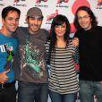 Emilie de Secret Story, Mustapha El Atrassi, Florian Gazan et Allan Van Darc