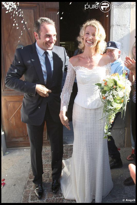 Les mariages de 2009 une ann e du meilleur cru for Jean dujardin et ses enfants