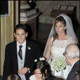 Giancarlo Fisichella et Luna Castellani mariés depuis octobre dernier