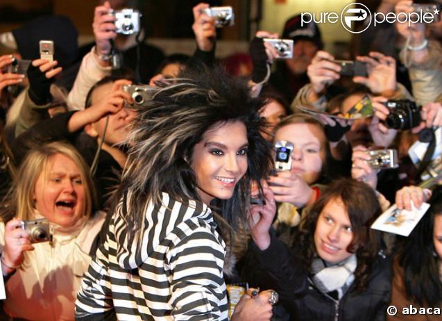 Bill Kaulitz des Tokio Hotel et ses fans