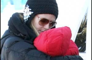 Heidi Klum première sortie en famille avec la petite Lou !