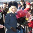 Le prince Charles et Camilla Parker Bowles assistaient hier à la messe de Noël en compagnie de la reine Elizabeth II à l'église St Mary Magdalene.