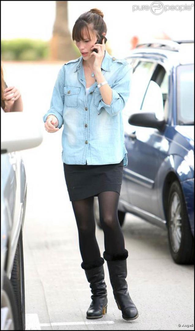 La ravissante Jennifer Garner, à Santa Monica, à Los Angeles, en décembre 2009.