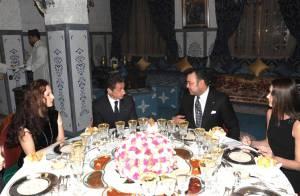 Nicolas Sarkozy et Carla Bruni : A la table du roi du Maroc et sa famille pour un dîner... digne des Mille et Une Nuits !