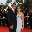 Abhishek Bachchan et Aishwarya Rai lors du festival de Cannes en 2009