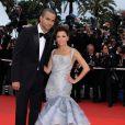 Tony Parker et Eva Longoria lors du tapis rouge de Cannes en mai 2009