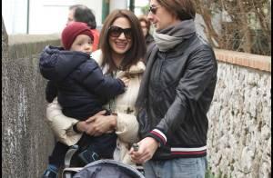 Asia Argento est ravissante... entourée de son adorable bébé et de son mari !