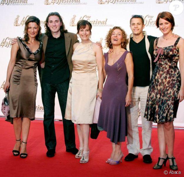 L'équipe de Plus Belle La Vie, avec Geoffrey Sauveaux