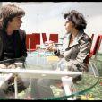 Rachida Dati le 25 novembre avec Jean-Michel Jarre à Strasbourg. Il est le porte parole de la fédération nationale de l'industrie du disque. Il est venu en discuter avec elle au niveau européen.
