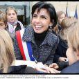 Rachida Dati pour la commémoration du 11 novembre dans son VIIe arrondissement