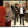 Rachida Dati à la mairie de Paris avec sa fidèle Emmanuelle Dauvergne
