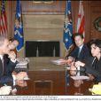 Rachida Dati le 8 décembre à Washington avec le ministre de la justice américaine Eric Holder