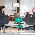 Rachida Dati avec Dominique Strass-Kahn à Washington le 8 décembre