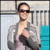 Jessica Alba : La fin des vacances la rend... souriante ! Un miracle !