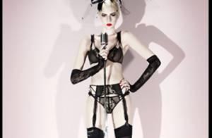 Chantal Thomass nous charme avec sa très enjôleuse demoiselle... en lingerie fine !