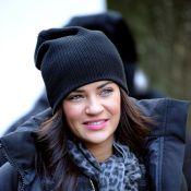 La captivante Jessica Szohr reste une pure beauté malgré le froid new-yorkais !