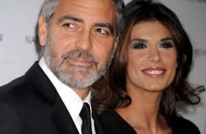 George Clooney et sa superbe Elisabetta Canalis sont entourés de stars... mais on ne voit qu'eux !