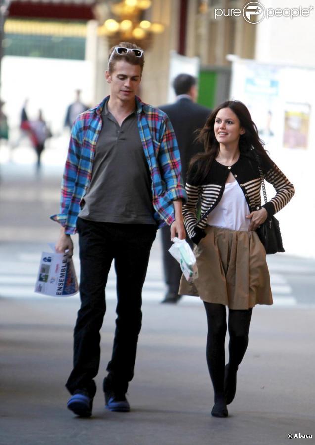 Hayden Christensen et sa belle Rachel Bilson
