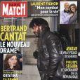 Bertrand Cantat en couverture de Paris Match