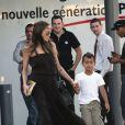 Angelina Jolie et Maddox