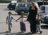 Angelina Jolie et ses enfants : Après son don d'1 million de dollars pour Haïti, elle gâte ses petits !