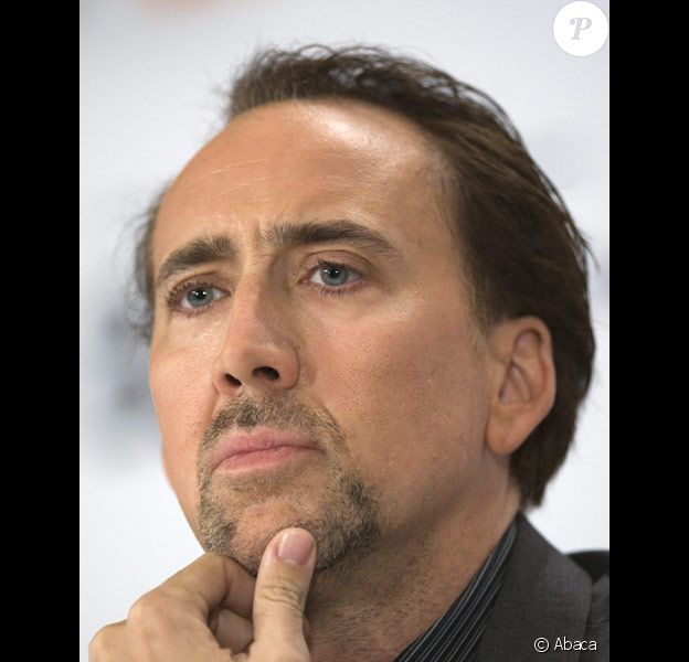 Nicolas Cage au festival de Toronto en septembre 2009