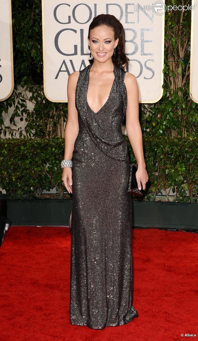 Olivia Wilde  La bombe de Dr House enlève sa robe pour le plus offrant.