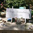 La tombe de Serge Gainsbourg (cimetière Montparnasse)