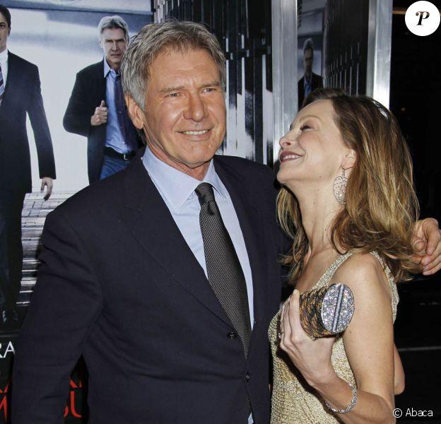 Harrison Ford et Calista Flockhart à l'occasion de l'avant-première de Mesures exceptionnelles, qui s'est tenue au Graumann's Chinese Theatre de Los Angeles, le 19 janvier 2010.