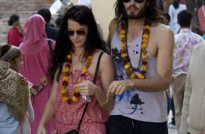 Les nouveaux fiancés Katy Perry et Russell Brand : Revivez en images leur tendre escapade en Inde !