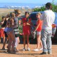 Shakira et son compagnon Antonio de la Rùa, en Amerique Latine à Punta del Este