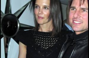 Quand Katie Holmes et sa robe noire ajourée... rendent fou d'ivresse Tom Cruise !